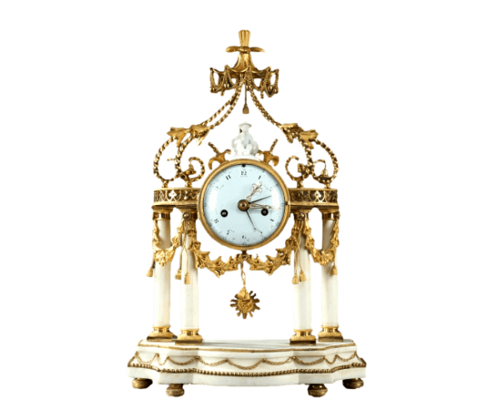 Pendule Louis XVI pagode au chinois